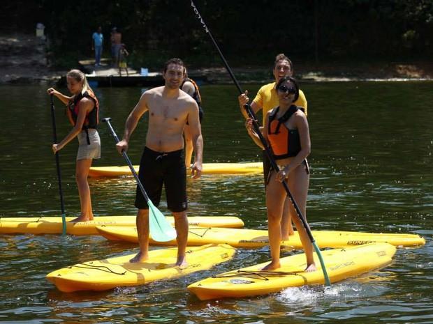 2107d8ac1 G1 - Stand-up paddle é opção de  esporte refrescante  no verão ...