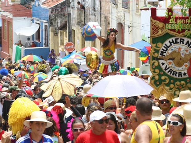 Mulher na Vara (Foto: Divulgação)