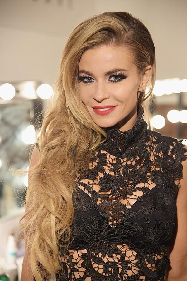 Carmen Electra já admitiu em entrevista que além de lingeries sensuais tem um gosto especial por... algemas e que sempre procura por novos modelos (Foto: Getty Images)