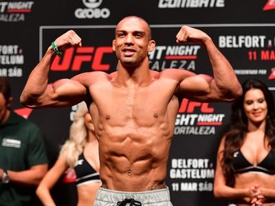 Edson Barboza Cerimônia de Pesagem UFC Fortaleza (Foto: Jason Silva )