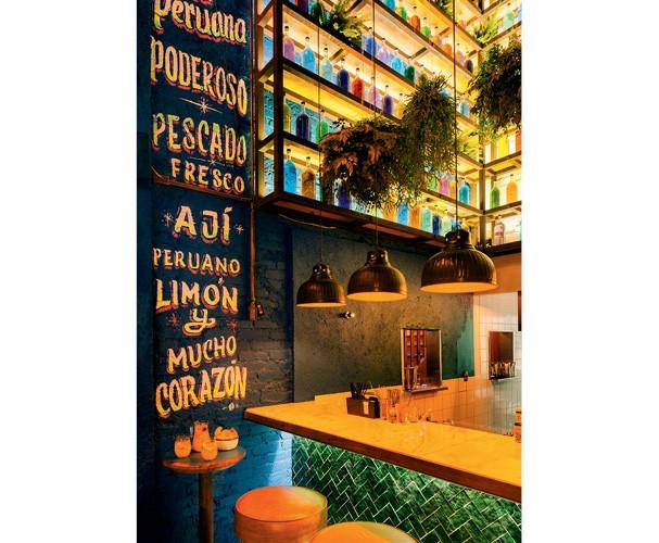 O novo bar El Balcón (SP) reúne as duas trends: é petit e pertence à chef Marisabel Woodman, do La Peruana (Foto: Divulgação)