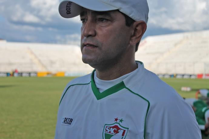 Sérgio China, Salgueiro (Foto: Emerson Rocha)