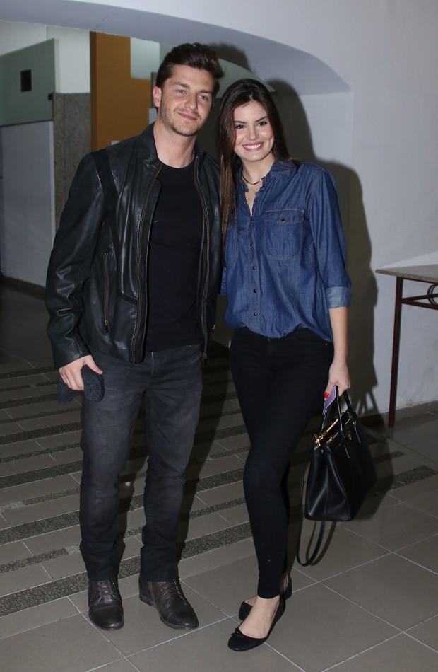 Camila Queiroz e Klebber Toledo (Foto: Thiago Duran/AgNews)