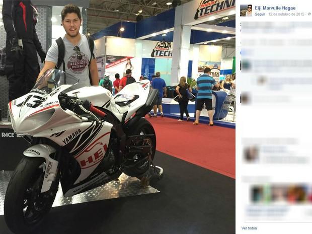 Jovem era apaixonado por motocicleta (Foto: Reprodução/Facebook)