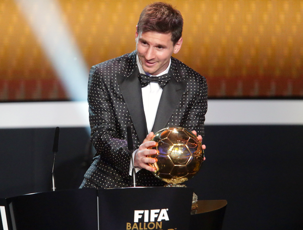 Lionel Messi Bola de Ouro (Foto: Getty Images)