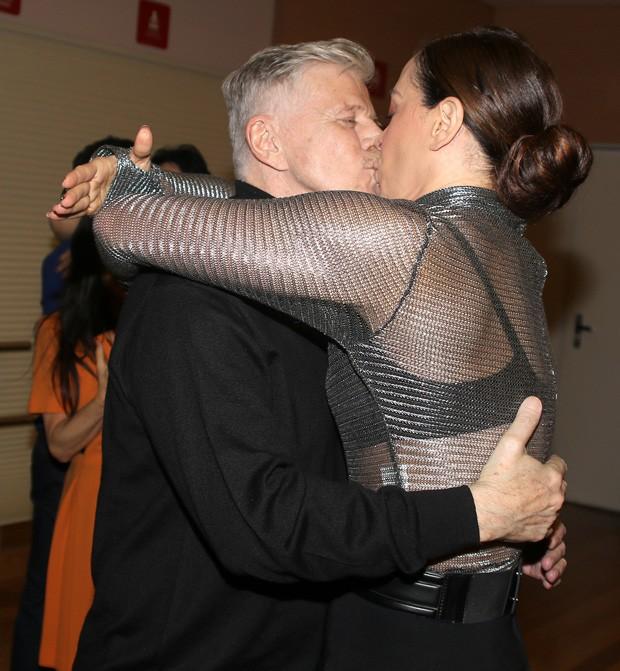 Miguel Falabella e Claudia Raia (Foto: Thiago Duran/AgNews)