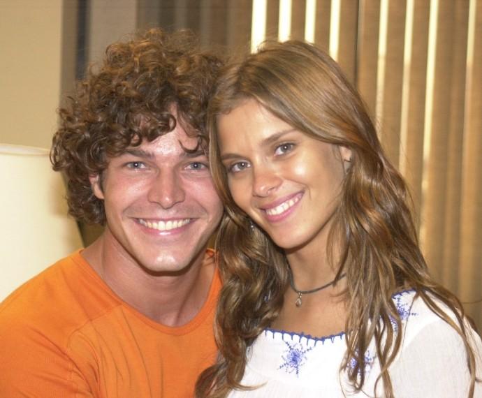 Carolina interpretou em 'Mulheres Apaixonadas' a mocinha Edwiges. A moça era apaixonada por Cláudio, personagem de Erik Marmo (Foto: CEDOC)
