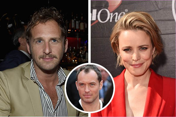 Josh Lucas, Rachel McAdams e Jude Law (Foto: Getty Images)