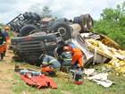 Quatro mortos em batida na BA-265 eram da mesma família, diz PRE