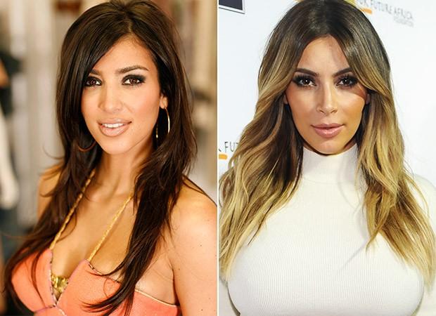 [MODA] Kim Kardashian - Transformação (Foto: Agência Getty Images)