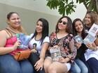 Fãs se preparam para show de Luan Santana durante o Festeja em MT