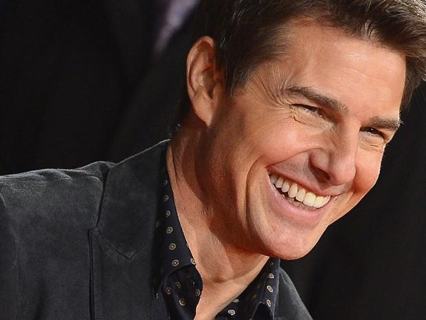 Tom Cruise posa para fotos antes de exibição do filme 'Jack Reacher', em Londres, nesta segunda-feira (10) Longa é dirigido por roteirista de 'Os suspeitos' e 'O Turista' (Foto: Reuters/Toby Melville)