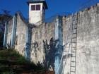 Presos fogem da Casa de Custódia com ajuda de duas escadas