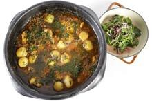 'Cozinheiros em Ação' - Segunda temporada - Episódio 03 - Peixada de cação com camarão e batatas, acompanhada de salada - Joana Kamil