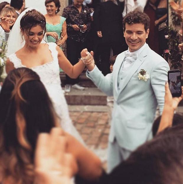 Sophie Charlotte e Daniel de Oliveira (Foto: Reprodução/Instagram)