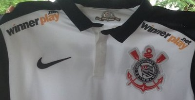 Camisa Corinthians Gustavo Herbetta (Foto: Reprodução/Twitter)