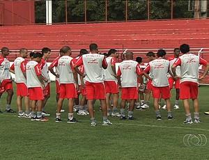 Vila Nova - treino (Foto: Reprodução / TV Anhanguera)