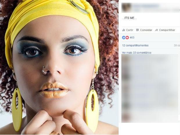 Aline Campestrini tinha 25 anos e foi encontrada morta em uma residência de Colombo (Foto: Reprodução/Facebook)