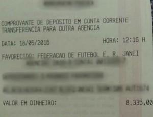 Depósito de R$ 8,3 mil garante Barra Mansa na Série B (Foto: Divulgação/BMFC)