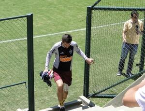 Victor, goleiro do Atlético-MG (Foto: Fernando Martins)