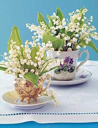 Acredita, xícaras de chá também são multiuso (Foto: www.midwestliving.com)