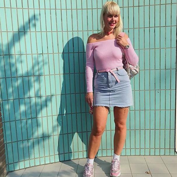 Sósia de Xuxa (Foto: Instagram/Reprodução)