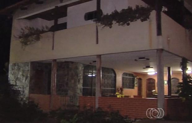 Ritual de Santo Daime foi realizado em chácara de Nerópolis, Goiás (Foto: Reprodução/ TV Anhanguera)