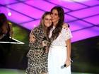 Claudia Leitte e Ivete Sangalo fazem dueto inédito no palco do The Voice