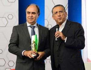 Premio Craque do Brasileirão - Marcelo Oliveira e Galvão Bueno (Foto: Mauro Horita)