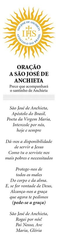 Oração  a São José de Anchieta (Foto: ÉPOCA)