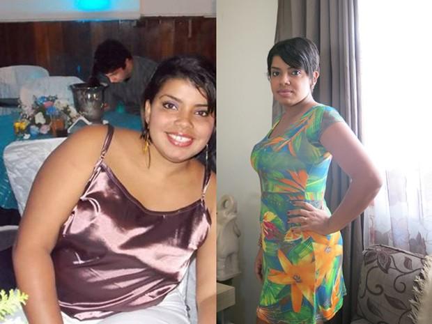Heloisa emagreceu mais de 20 quilos após dieta e exercícios físicos (Foto: Anna Gabriela Ribeiro / G1)