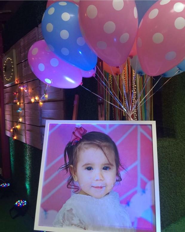 Aniversário de Maria Flor, filha de Deborah Secco (Foto: Instagram / Reprodução)