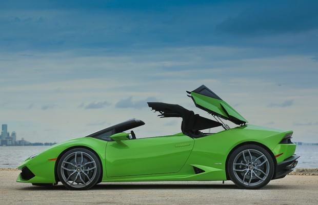 Lamborghini Huracán Spyder (Foto: Divulgação)