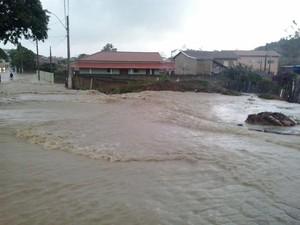 Guaraná, distrito de Aracruz, no Norte do estado (Foto: Marco Sauê/ VC no ESTV)