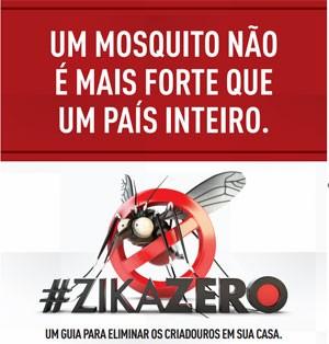 Panfleto será distribuído para conscientizar sobre combate ao mosquito. (Foto: Divulgação/Defesa)