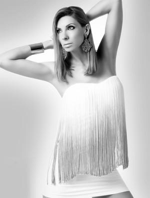 vôlei Cristina Pirv modelo (Foto: Divulgação)