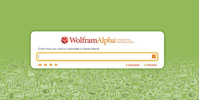 Wolfram Alpha (Foto: Reprodução/André Sugai)
