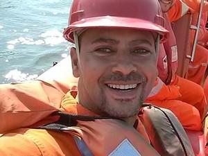 Alexsandro de Sousa Ribeiro é a sexta vítima de explosão em navio no Espírito Santo (Foto: Reprodução/Facebook)