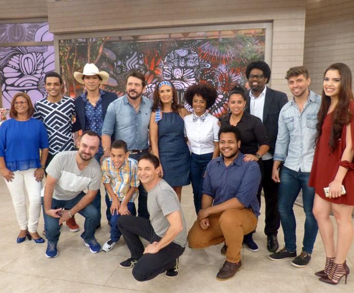 Todos os convidados desta segunda-feira, 12/9 (Foto: Vinícius Cunha/Gshow)