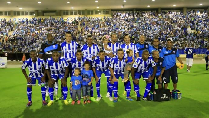 CSA definido para jogo contra o Santa Rita (Foto: Ailton Cruz/ Gazeta de Alagoas)