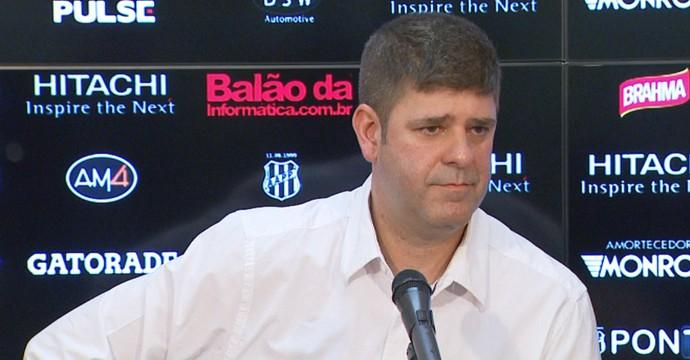 Márcio Della Volpe presidente Ponte Preta (Foto: Carlos Velardi/ EPTV)