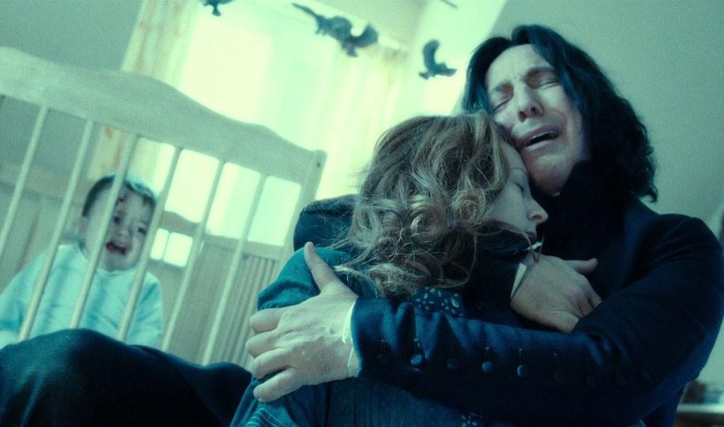 J. K. Rowling conta o que revelou a Alan Rickman durante as gravações de Harry Potter