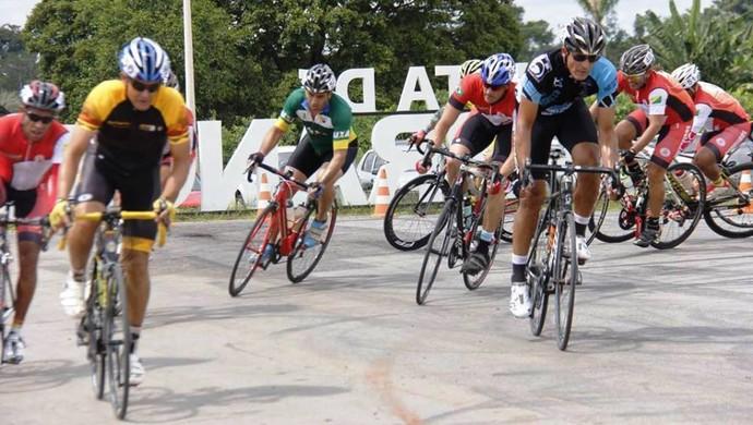 Primeira etapa do Campeonato Acreano de Ciclismo 2016 (Foto: Bruno Derze/Arquivo pessoal)