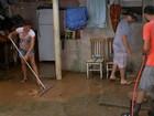 Chuva alaga casas e deixa moradores desabrigados em São Roque