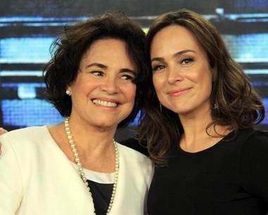 Gabriela Duarte comenta comparação com Regina Duarte (Marcos Mazini/Gshow)