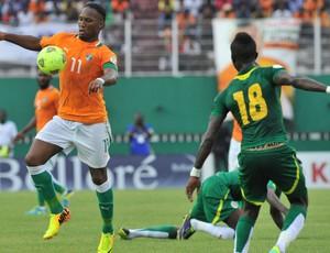 Drogba Costa do Marfim x Senegal (Foto: AFP)