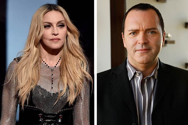 Madonna e Christopher Ciccone (Foto: Getty Images)