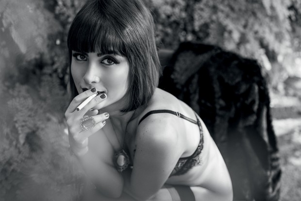 """Maria Casadevall na """"Playboy"""" (Foto: Playboy/Divulgação)"""