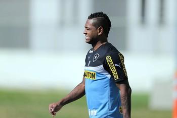 Jobson, Treino do Botafogo (Foto: Paulo Campos / Agência Estado)