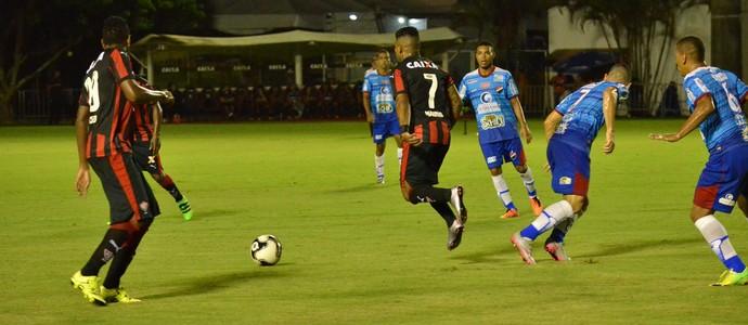 Vitória x Flamengo de Guanambi; Barradão (Foto: Divulgação/EC Vitória)